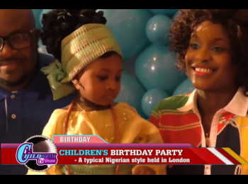 Proud Nigerians Celebrate Children's birthday in London