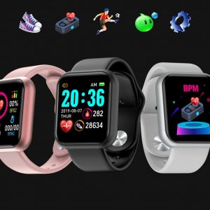 Welcome To Masterford Mall. We Are Pleased To Inform You That We Have The FollD20/Y68 Blood Pressure and Heart Rate Monitor, Wearable Smart watch, waterproof health and exercise pedometer.